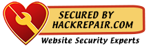 Secured by HackRepair.com