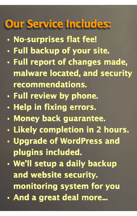 HackRepair.com Service Includes: