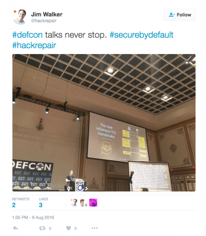 DEFCON 2016, The Hack Repair Experience