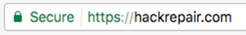 HackRepair.com SSL