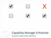Capability Manager Enhanced plugin