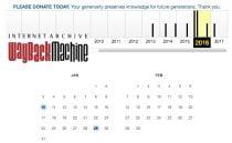 Internet Archive Wayback Machine