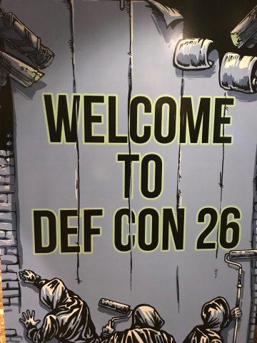 DEFCON 26, Las Vegas, 2018