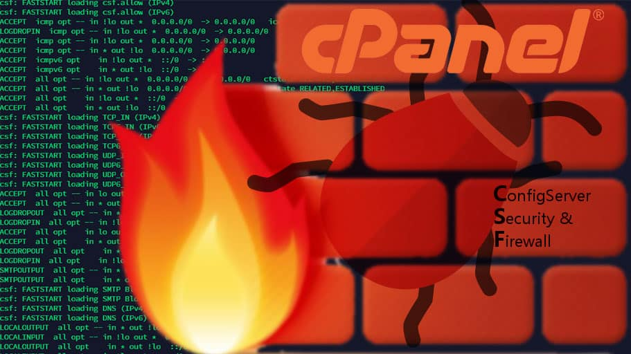cPanel CSF Firewall Bug